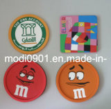 Coaster- Silicone Coaster 2015 Military Rubber Patches with Hook & Loop/New Personalized Patches