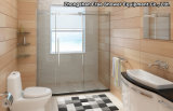 Stainless Steel Big Wheels Shower Room / Bathroom Screen