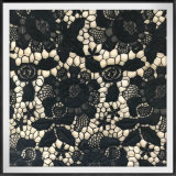 Flower Embroidery Lace Milk Yarn Guipure Lace Cotton Feel Polyester Lace