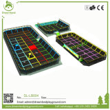 Factory Price Commercial Jumping Big Kids Indoor Trampoline Bed