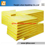 Yellow Color Glass Wool Board Glass Blanket