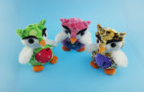 Kids Toy Colorful Owl, 3 Asst.