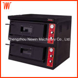 LPG Natural Gas Pizza Oven Double Deck