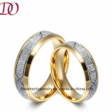 Unique Matte Finish Stainless Steel Ring Jewelry Wedding Ring