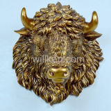 Resin 3D Animal Head Wall Decoration Home Decor