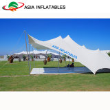 Heavy Duty White Stretch Tent for Outdoor Camping