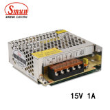 Smun S-15-15 15W 15V 1A Switched Power Supply with Ce