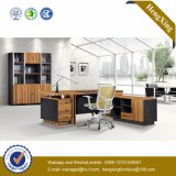 Solid Wood Office Furniture Walnut Executive Office Table (HX-D9023)