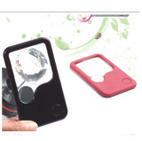 Pocket Reading Card LED Lighted Magnifying Credit Card Magnifier Hw-212PA