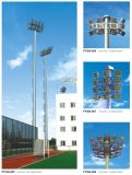 High Quality 4 Layers Lamp Frame Single Face High Mast Pole