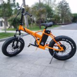 Lithium Battery Electric Folding Snow E-Bike with 20*4.0 Tire