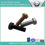 A490 Hex Bolt, Black Finished Structural Bolts