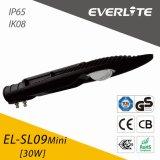 Everlite 30W Mini COB LED Street Light with IP65 Ik08
