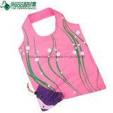 Recycle Polyester Nylon Foldable Strawberry Bag Folding Shopping Tote Bag