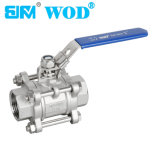 "1"" Stainless Steel Screwed Ball Valve"