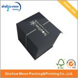 Wholesale Black Luxury Hot Silver Stamping Packaging Box (QY150020)
