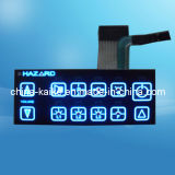 Sealed LED Membrane Switch Keypad