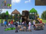 Kaiqi Medium Sized Ancient Forest Themed Children′s Playground Set (KQ50005A)