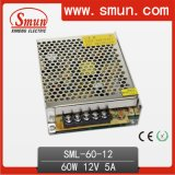 60W 12V/24V Single Output Switching Power Supply Designed for LED Lighting