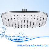 Shower Head of 8 Inch ABS Plastic Square Waterfall
