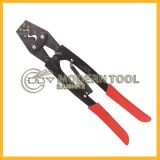 Hs-38 Ratchet Crimping Plier for Non-Insulated Cable Links