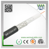60% Braiding 18AWG CCS RG6 Coaxial Cable