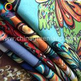 Garment Printed Imitate Denim Twill Fabric of Cotton Spandex (GLLML179)