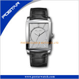 Square Dial Business Style a+Quality Men′s Swiss Wrist Watch
