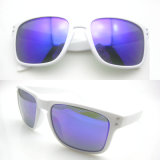 Fashion Crystal Design Polarized Sunglasses with Mirror (LJ120004-2)