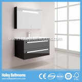 Hot LED Light Touch Switch High-Gloss Paint Hotel Bathroom Cabinet (B808D)