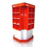 Four Sided Full Color Cardboard Display, Durable Retail Display Stands