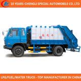 China 8cbm 10cbm 12cbm Compressor Garbage Truck for Sale