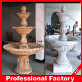 Natural Stone Marble/Granite Water Fountain for Outdoor Garden