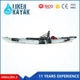 Sit on Top Fishing Leisure Kayak LLDPE Hull Material Single Kayak