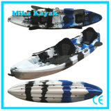 3 Seat Family Ocean Competition Kayak Fishing Boats Plastic Canoe