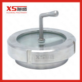 Stainless Steel Sanitary Union Type Sight Glass with Brush