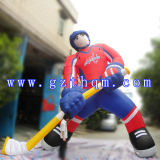 Inflatable Cartoon Model for The Exhibition of The Curved Stick