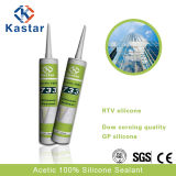 Super Acetoxy Blue RTV Sealant for Big Glass Installation (Kastar733)