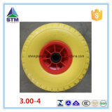 Various PU Flat Free Wheel Without Air