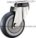 Stainless Steel Series - TPR Caster (Round Rim)
