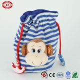 Monkey Bag Candy Stored Toy Mobile Phone Bag Toy Knitted