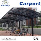 Strong Glass Roof Aluminum Car Shelter for Garden