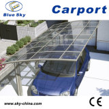 Hot Sale Aluminium Car Parking Carport with Polycarbonate Roof