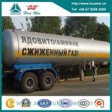 2 Axle 40.5 Cbm LPG Transport Tank Semi Trailer