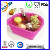 High Heat Resistance Silicone Foldable Bowl