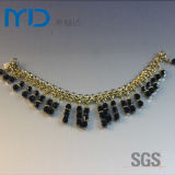 Decorative Chain Pendant with Beads for Women′s Sandals, Slippers and Dress Shoes