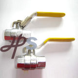 Brass Lockable Ball Valves (HB09C)