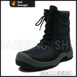 PU Injection Hight Cut Safety Boot with Steel Midsole (SN1804)