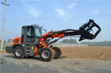2ton Telescopic Wheel Loader Payloader with Different Attachments