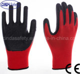 Latex Coated Labor Protective Industrial Work Safety Gloves